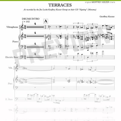 Geoffrey Keezer - Terrace sheet music