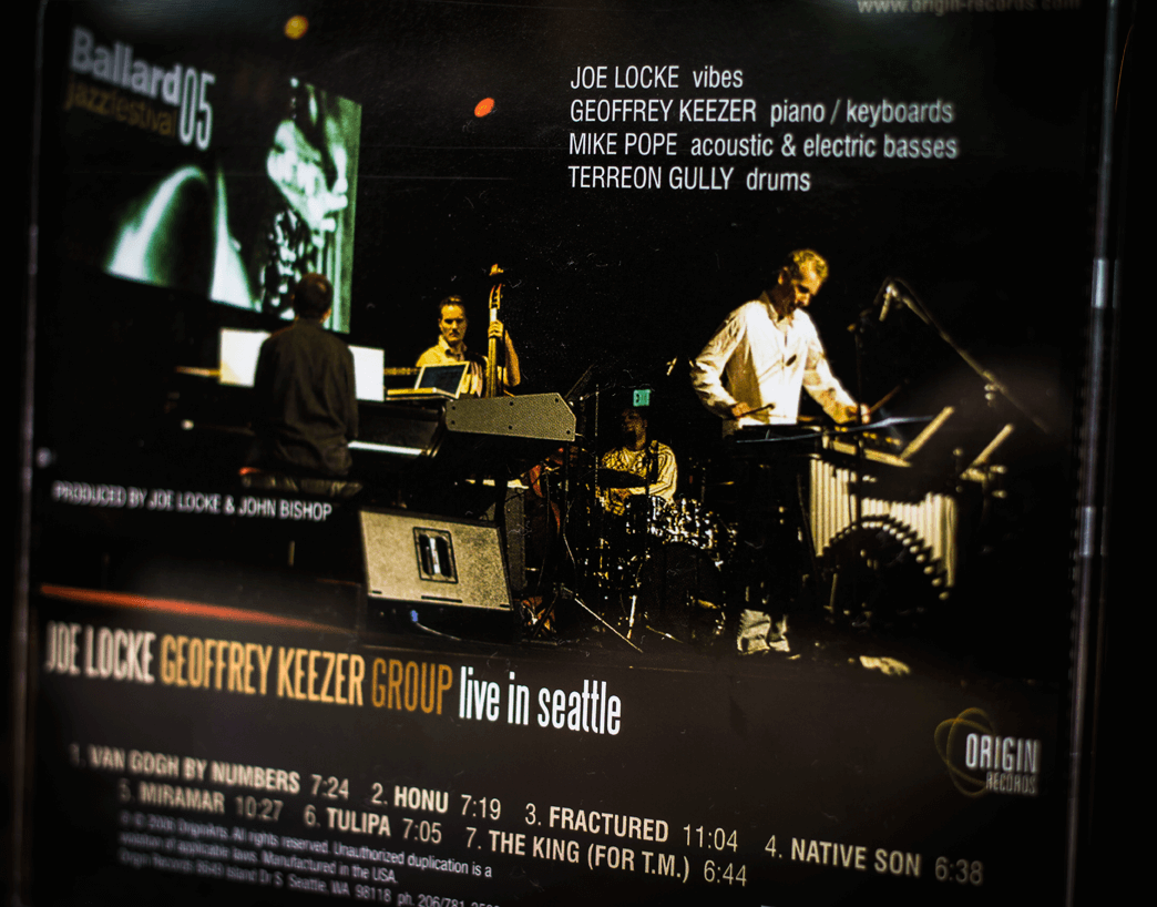 Joe Locke / Geoffrey Keezer Group - Live In Seattle