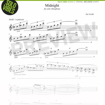 Joe Locke Solo Vibraphone - Midnight
