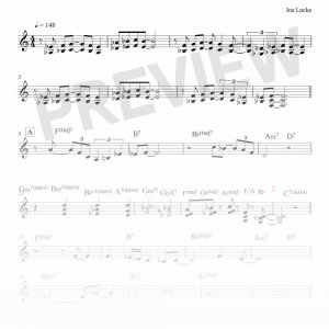 Joe Locke - What's Not To Love sheet music