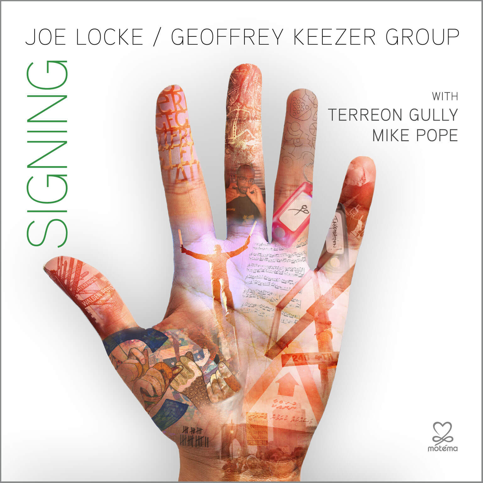 Joe Locke / Geoffrey Keezer Group – SIGNING