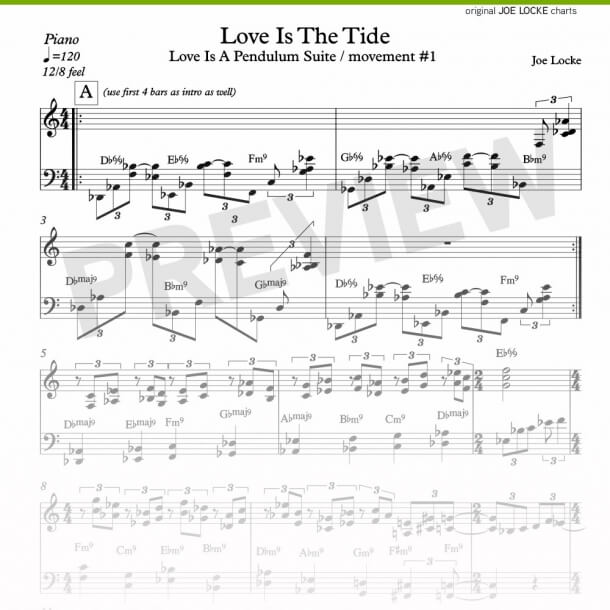 Joe Locke - Love Is The Tide (piano)