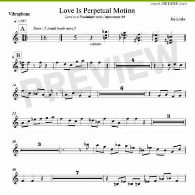 Love Is Perpetual Motion (vibes)