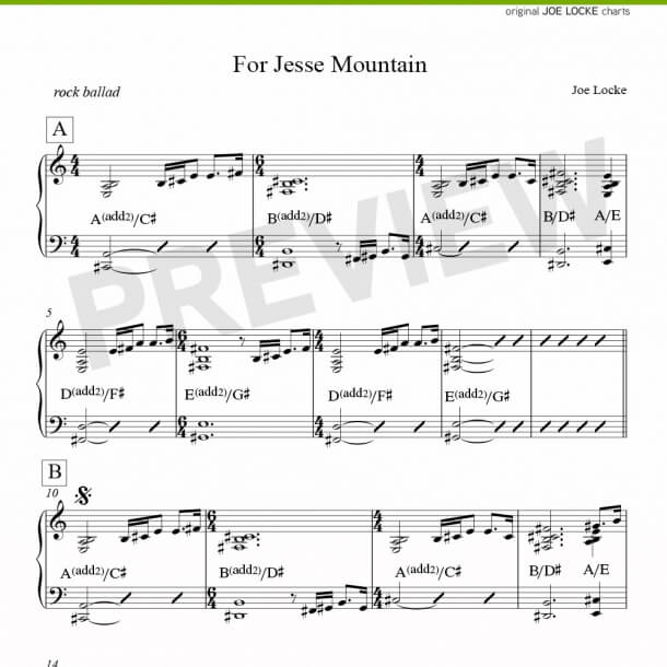 For Jesse Mountain (piano)