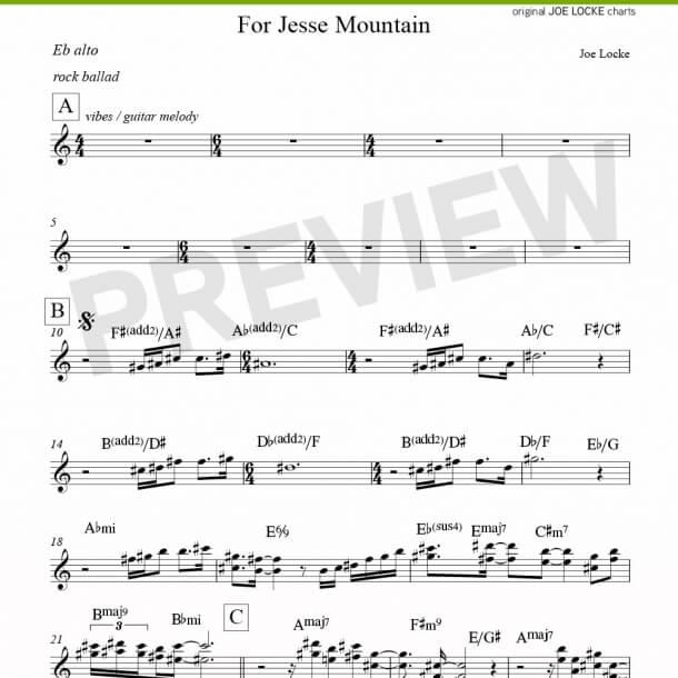 For Jesse Mountain (alto)