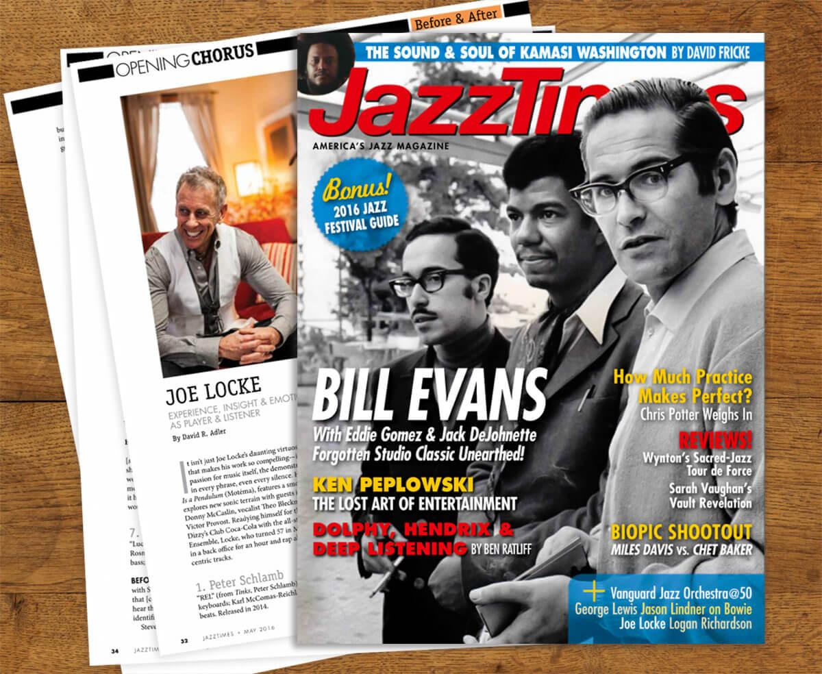 Joe Locke JazzTimes 'Before & After' May 2016