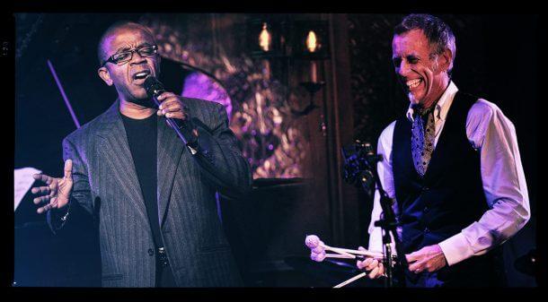 Joe Locke & Kenny Washington with the SNJO