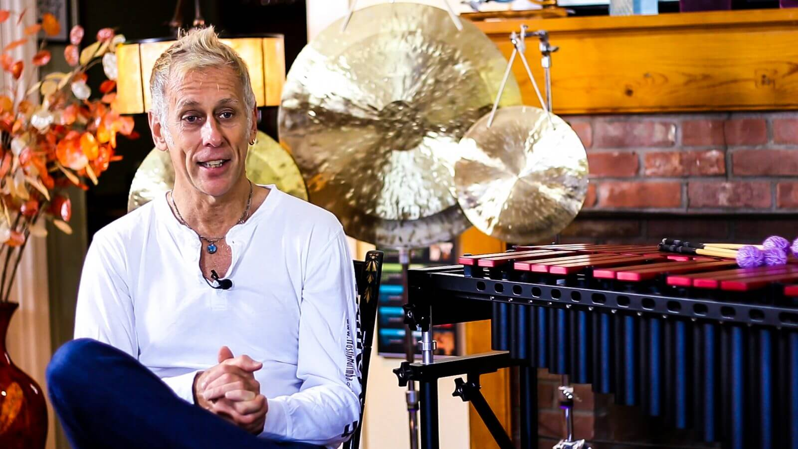 Joe Locke talking about the Malletech Omega