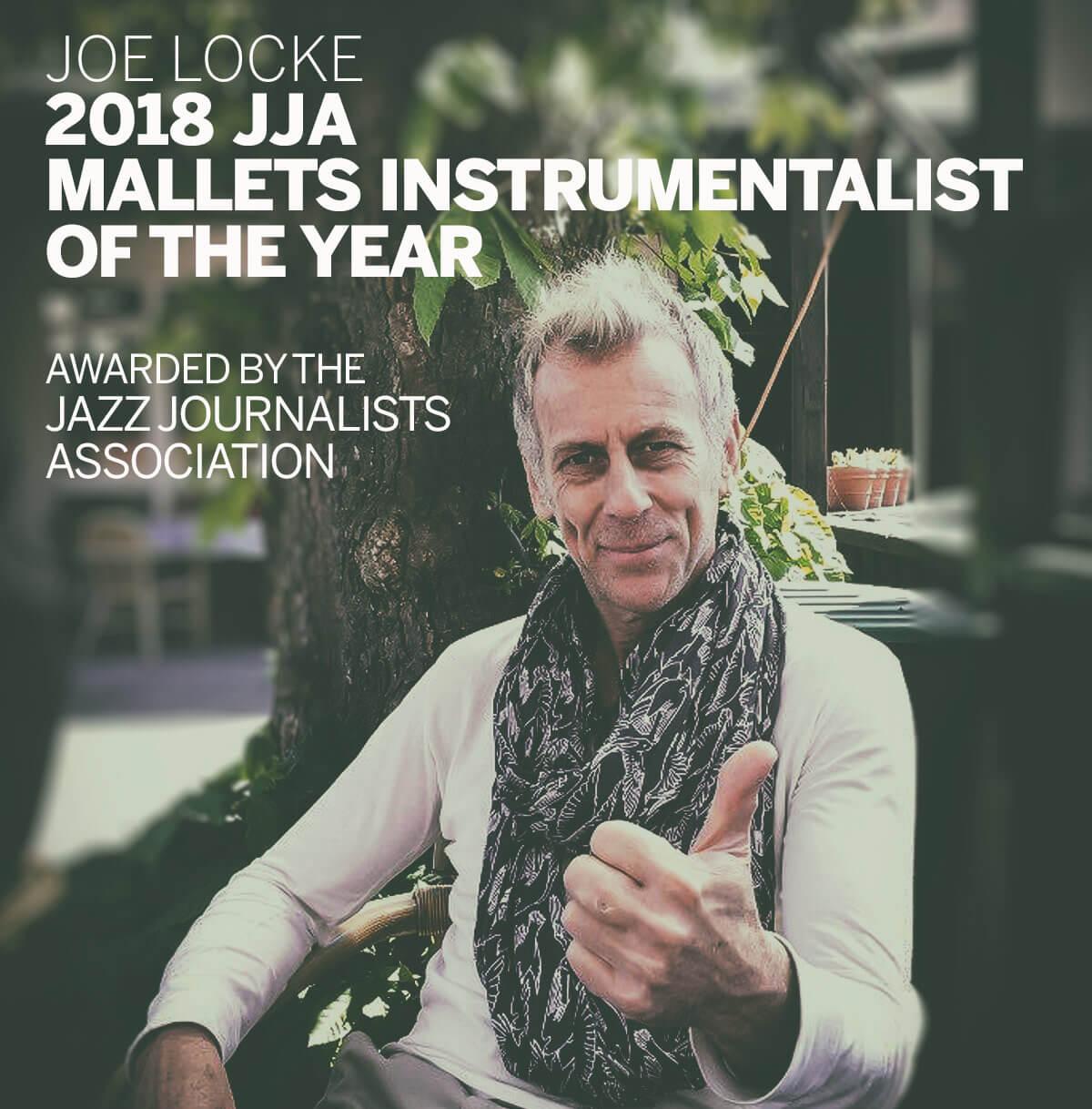 Joe Locke - 2018 JJA Award winner