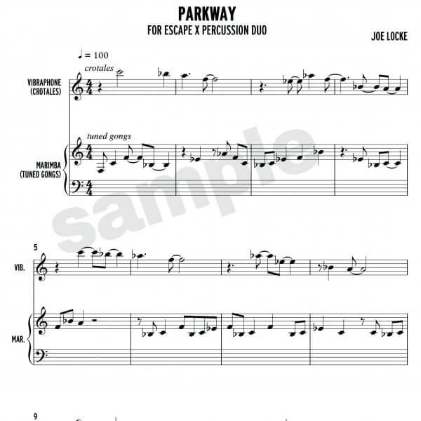Joe Locke - Parkway sample